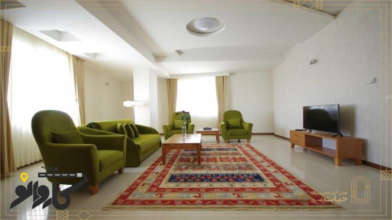 تصویر هتل آپارتمان حیات شرق