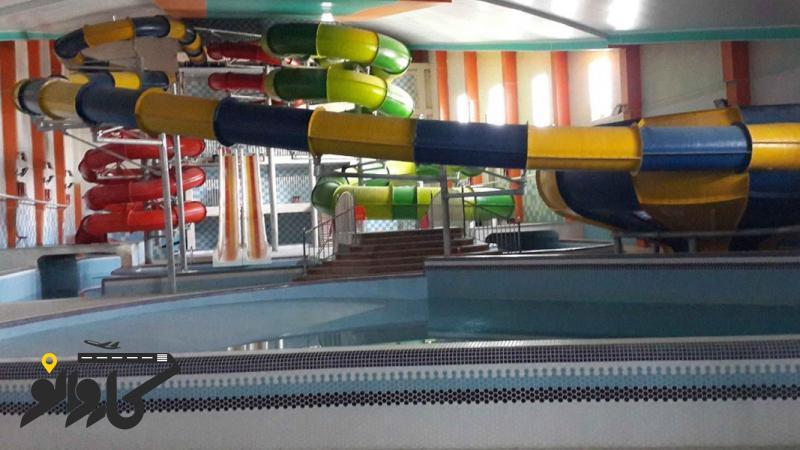 تصویر هتل موج های آبی باران
